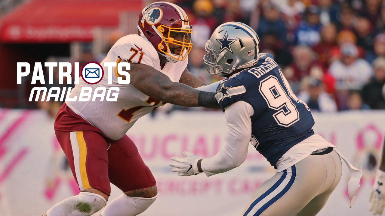 pretty nice e9a8c 6db3c Friday Bag: Trent Williams the answer for Patriots shaken up ...