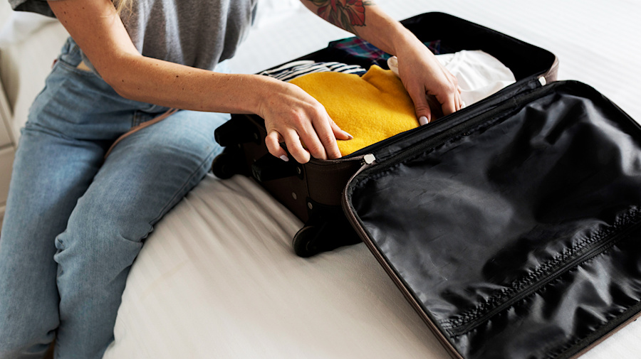 These packing cubes will revolutionise your suitcase organisation