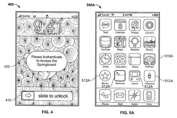 Recent Apple patent filing speaks of stealth biometric security on iPhone, other insane insanity
