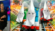 'Disturbing as hell': NRA slammed for giving 'Thomas & Friends' characters a KKK makeover