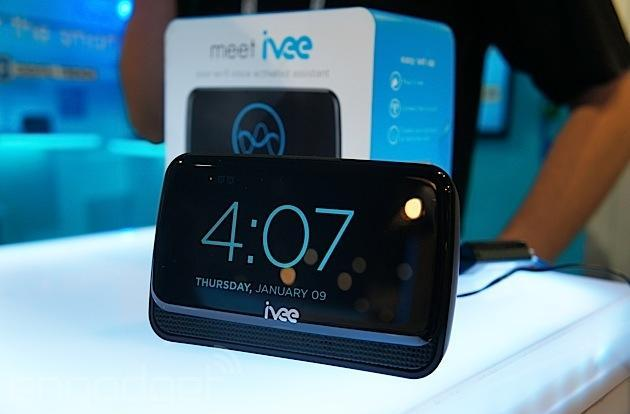 Ivee Sleek is a voice assistant that controls your connected home via WiFi