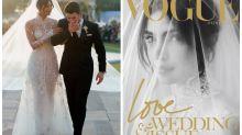 Priyanka Chopra Stuns in White Bridal Veil on Love & Wedding Cover of Vogue Netherlands