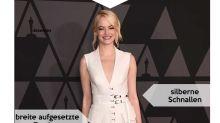 Look des Tages: Emma Stone in aufregendem Kittelkleid