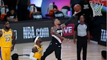 Top seeds Lakers and Bucks fall as Trail Blazers and Magic triumph in NBA playoffs