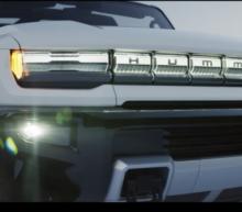 GM Unveils 'Supertruck' EV Hummer, With 350-Mile Range For $112,595