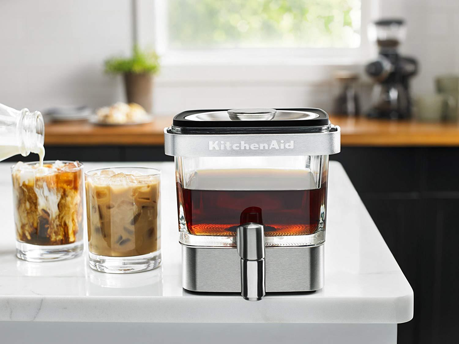 KitchenAid deal: Save $30 on cold-brew coffee maker on Amazon