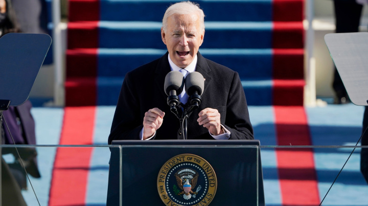 Biden's message to America: 'It's time to grow up'