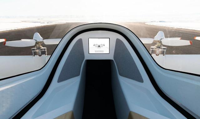 Airbus shares a glimpse of its flying taxi interior