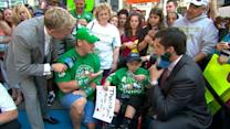 'GMA' Helps Wrestler John Cena 'Make a Wish'