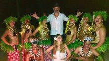 Las idílicas vacaciones de Sofía Vergara y Joe Manganiello en la Polinesia Francesa