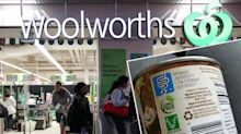 Woolworths shopper outraged after missing tiny detail on tin