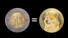 El dogecoin ya vale lo mismo que un peso mexicano