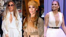 Los looks invernales de Jennifer Lopez