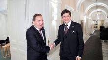 Suède: Le Premier ministre sortant invité à former un nouveau gouvernement