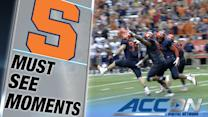 Syracuse Stuffs Villanova on 2-Point Conversion for the Win   ACC Must See Moment
