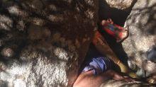 Durante caça, homem fica preso sob rochas por mais de 5 horas no Sertão de Alagoas