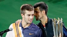 'I love you': Djokovic's impromptu lesson for young opponent