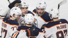 Watch: Leon Draisaitl finally notches first power-play point of season