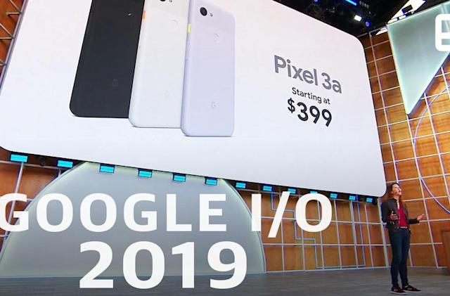 Watch Google's I/O 2019 keynote in 13 minutes