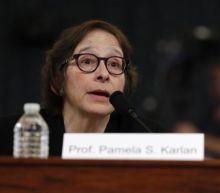 Trump impeachment: Melania says law expert should be 'ashamed' of joke about son Barron