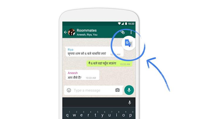 Google Translate now works in apps on any Android phone