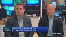 Watch CNBC's full interview with Under Armour's CEO and P...