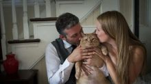 This Couple's Wedding Photos With Their 'Fat' Cat Are Adorable