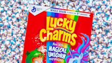 Lucky Charms Is Adding a Magical Unicorn to Its Marshmallow Rainbow