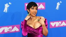 Cardi B Slays MTV Video Music Awards in First Red Carpet Appearance Since Giving Birth