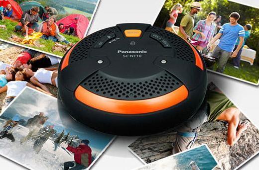 Panasonic launches $100 SC-NT10 rugged wireless speaker