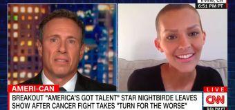 Singer who left 'AGT' after cancer news returns to TV