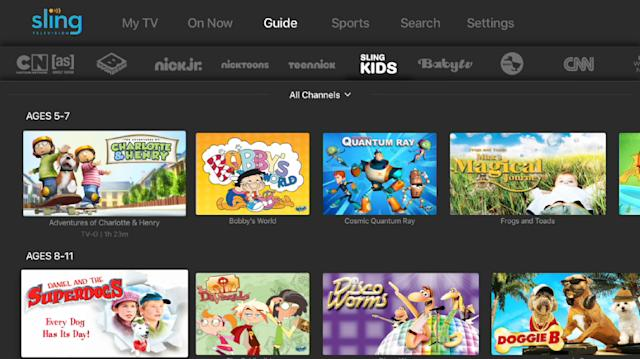 Sling TV just added even more kids programming