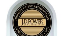 IHG® Brands Awarded Top Rank on J.D. Power's 2018 Guest Satisfaction Study