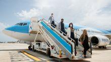 On board Tui's first post-lockdown flight