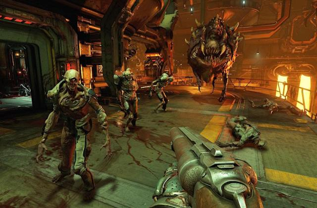 Play Doom's open beta all weekend on PS4, Xbox One and Steam
