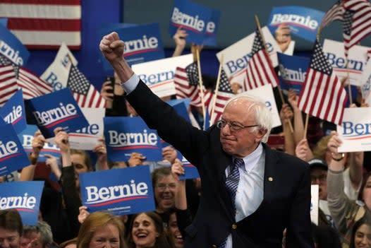 Bernie Sanders enjoys major poll boosts as Warren told 'endorse Bernie already'