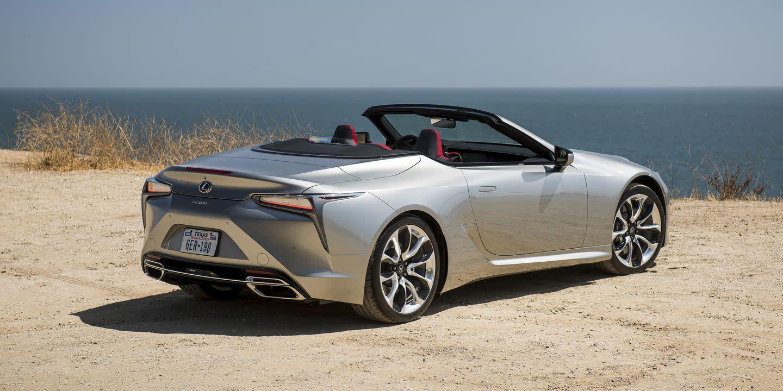 2021 lexus lc500 convertible priced starting at 102025