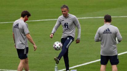 Luis Enrique, en el Camp Nou y el Alfredo di Stéfano