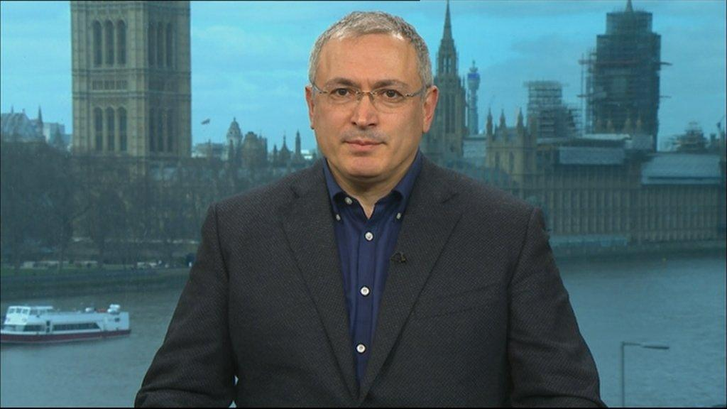 Khodorkovsky blames Kremlin for Russian ex-spy poisoning ...