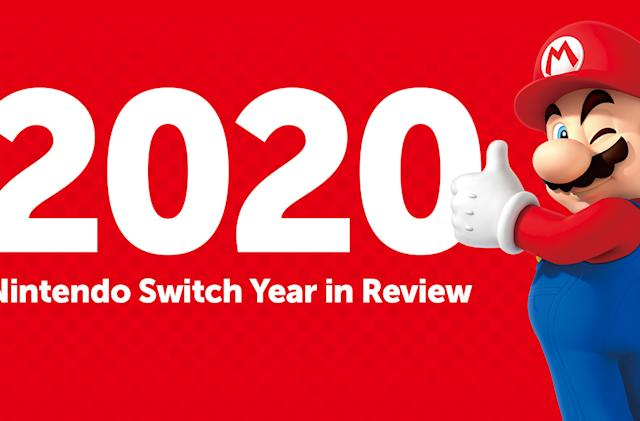 Nintendo's Switch year in review shows how long you spent avoiding 2020