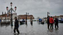 Venise : la ville, déjà sous l'eau, redoute une nouvelle marée haute dévastatrice