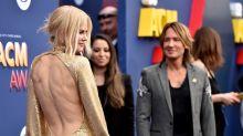 2018 ACM Awards: Nicole Kidman is glowing in gold next to Keith Urban