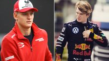 'My last name is not Schumacher': Rival levels stunning claims at son of F1 legend