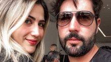 """Filha de Leonardo comenta sepração de Sandro Pedroso: """"Estamos felizes"""""""