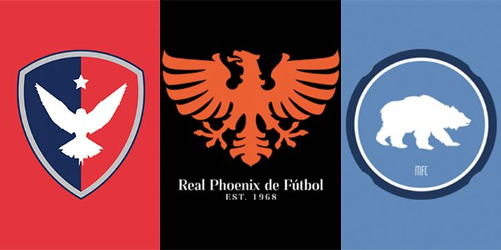 Cool soccer team logos