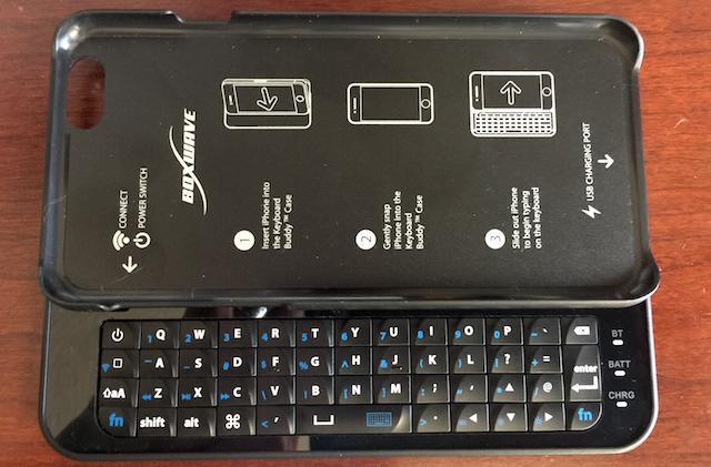 Boxwave Keyboard Buddy case: When a virtual keyboard isn't enough
