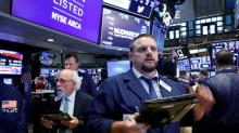 Wall St slips as IBM disappoints; Fed minutes awaited