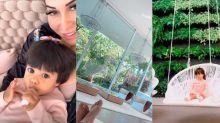"""Mayra Cardi curte mansão de 10 mil metros quadrados: """"Apreciando a vista"""""""