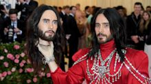 Met Gala 2019: Jared Leto carries a replica of his own head as an accessory