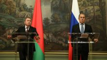 Belarus to hit Baltics with sanctions, Russia steps up support